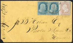 Sale Number 1196, Lot Number 823, 1857-60 Issue1c Blue, Ty. I (18), 1c Blue, Ty. I (18)