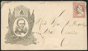 Sale Number 1196, Lot Number 834, Campaign & Civil War Patriotics3c Dull Red, Ty. III (26), 3c Dull Red, Ty. III (26)