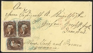 Sale Number 1196, Lot Number 863, 1861-68 Issues5c Red Brown, 5c Brown (75, 76), 5c Red Brown, 5c Brown (75, 76)