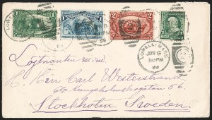 Sale Number 1196, Lot Number 893, Columbian & Trans-Mississippi Issues1c Columbian (230), 1c Columbian (230)