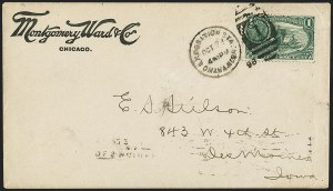 Sale Number 1196, Lot Number 895, Columbian & Trans-Mississippi Issues1c Trans-Mississippi (285), 1c Trans-Mississippi (285)