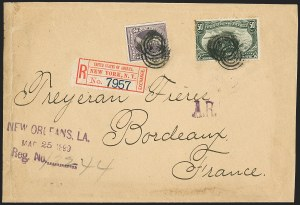 Sale Number 1196, Lot Number 905, Columbian & Trans-Mississippi Issues50c Trans-Mississippi (291), 50c Trans-Mississippi (291)