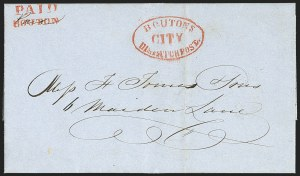 Sale Number 1196, Lot Number 968, Local PostsBouton's City Despatch Post, Bouton's City Despatch Post