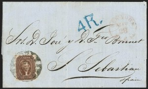 Sale Number 1196, Lot Number 987, Confederate States: Independent and CSA Uses of U.S. StampsNew Orleans La. 21 May (1861), New Orleans La. 21 May (1861)