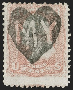 Sale Number 1197, Lot Number 1653, 1861-66 Issue (Scott 56-78)3c Rose (65), 3c Rose (65)