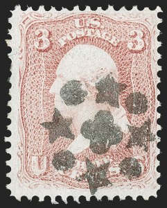 Sale Number 1197, Lot Number 1655, 1861-66 Issue (Scott 56-78)3c 1861-68 Issue (65, 94), 3c 1861-68 Issue (65, 94)