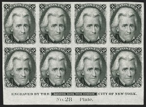 Sale Number 1197, Lot Number 1664, 1861-66 Issue (Scott 56-78)2c Black, Die I, Plate Proof on India (73P3), 2c Black, Die I, Plate Proof on India (73P3)