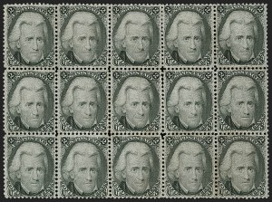 Sale Number 1197, Lot Number 1671, 1861-66 Issue (Scott 56-78)2c Black (73), 2c Black (73)