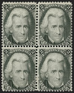 Sale Number 1197, Lot Number 1672, 1861-66 Issue (Scott 56-78)2c Black (73), 2c Black (73)