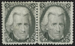 Sale Number 1197, Lot Number 1679, 1861-66 Issue (Scott 56-78)2c Black (73), 2c Black (73)