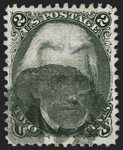 Sale Number 1197, Lot Number 1694, 1867-68 Grilled Issue (Scott 79-101)2c Black, Z. Grill (85B), 2c Black, Z. Grill (85B)