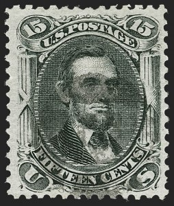 Sale Number 1197, Lot Number 1701, 1867-68 Grilled Issue (Scott 79-101)15c Black, E. Grill (91), 15c Black, E. Grill (91)