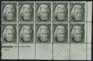 Sale Number 1197, Lot Number 1703, 1867-68 Grilled Issue (Scott 79-101)2c Black, F. Grill (93). Mint N.H, 2c Black, F. Grill (93). Mint N.H
