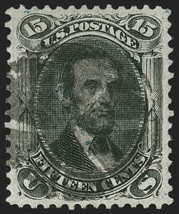 Sale Number 1197, Lot Number 1706, 1867-68 Grilled Issue (Scott 79-101)15c Black, F. Grill (98), 15c Black, F. Grill (98)