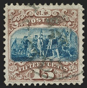 Sale Number 1197, Lot Number 1769, 15c-90c 1869 Pictorial Issue (Scott 118-122)15c Brown & Blue, Ty. I (118), 15c Brown & Blue, Ty. I (118)