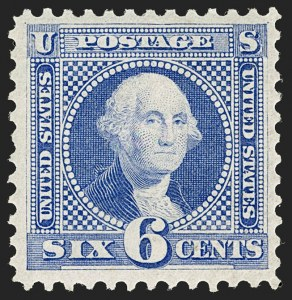 Sale Number 1197, Lot Number 1779, 1875 Re-Issue of 1869 Pictorial Issue (Scott 123-133a)6c Blue, Re-Issue (126), 6c Blue, Re-Issue (126)