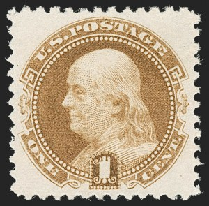 Sale Number 1197, Lot Number 1789, 1875 Re-Issue of 1869 Pictorial Issue (Scott 123-133a)1c Brown Orange, 1881 Re-Issue (133a), 1c Brown Orange, 1881 Re-Issue (133a)