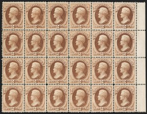 Sale Number 1197, Lot Number 1790, 1870-71 National Bank Note Co. Issue (Scott 134-155)2c Red Brown, H. Grill (135, 146), 2c Red Brown, H. Grill (135, 146)
