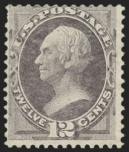 Sale Number 1197, Lot Number 1793, 1870-71 National Bank Note Co. Issue (Scott 134-155)12c Dull Violet, H. Grill (140), 12c Dull Violet, H. Grill (140)
