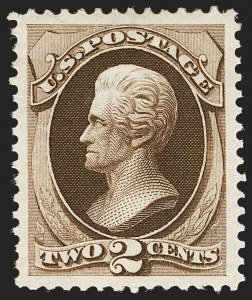 Sale Number 1197, Lot Number 1803, 1873-75 Continental Bank Note Co. Issue (Scott 156-166, 178-179)2c Brown (157), 2c Brown (157)