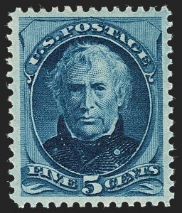 Sale Number 1197, Lot Number 1813, 1873-75 Continental Bank Note Co. Issue (Scott 156-166, 178-179)5c Blue (179), 5c Blue (179)