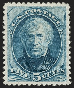 Sale Number 1197, Lot Number 1816, 1879 American Bank Note Co. Issue & 1880 Special Printing (Scott 182-199)5c Blue (185), 5c Blue (185)