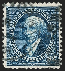 Sale Number 1197, Lot Number 1867, 1894-1903 Bureau Issues (Scott 246-284)$2.00 Bright Blue (262), $2.00 Bright Blue (262)