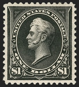 Sale Number 1197, Lot Number 1875, 1894-1903 Bureau Issues (Scott 246-284)$1.00 Black, Ty. I (276), $1.00 Black, Ty. I (276)