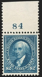 Sale Number 1197, Lot Number 1877, 1894-1903 Bureau Issues (Scott 246-284)$2.00 Bright Blue (277), $2.00 Bright Blue (277)