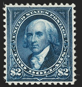 Sale Number 1197, Lot Number 1878, 1894-1903 Bureau Issues (Scott 246-284)$2.00 Bright Blue (277), $2.00 Bright Blue (277)
