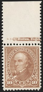 Sale Number 1197, Lot Number 1880, 1894-1903 Bureau Issues (Scott 246-284)10c Brown, Ty. I (282C), 10c Brown, Ty. I (282C)