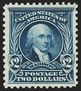 Sale Number 1197, Lot Number 1902, 1901 Pan-American and 1902-08 Issues (Scott 294-320)$2.00 Dark Blue (312), $2.00 Dark Blue (312)