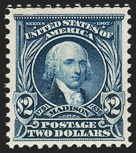 Sale Number 1197, Lot Number 1903, 1901 Pan-American and 1902-08 Issues (Scott 294-320)$2.00 Dark Blue (312), $2.00 Dark Blue (312)