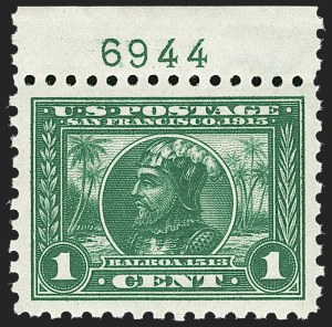 Sale Number 1197, Lot Number 1949, 1913-15 Panama-Pacific Issue, DeBroff Finest Graded Set (Scott 397-404)1c Panama-Pacific, Perf 10 (401), 1c Panama-Pacific, Perf 10 (401)