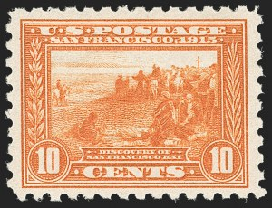 Sale Number 1197, Lot Number 1955, 1913-15 Panama-Pacific, 1912-15 Issues (Scott 397-461)10c Panama-Pacific, Perf 10 (404), 10c Panama-Pacific, Perf 10 (404)