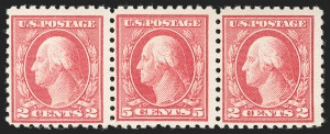 Sale Number 1197, Lot Number 1982, 1916-22 Issues (Scott 462-497)5c Carmine, Error (467), 5c Carmine, Error (467)