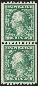 Sale Number 1197, Lot Number 1988, 1916-22 Issues (Scott 462-497)1c Green, Coil (486), 1c Green, Coil (486)