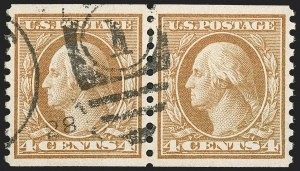 Sale Number 1197, Lot Number 2015, 1916-22 Issues (Scott 462-497)1c-10c 1916-22 Rotary Press Coils (486-490, 492-497), 1c-10c 1916-22 Rotary Press Coils (486-490, 492-497)