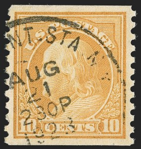 Sale Number 1197, Lot Number 2016, 1916-22 Issues (Scott 462-497)1c-10c 1916-22 Rotary Press Coils (486-490, 492-497), 1c-10c 1916-22 Rotary Press Coils (486-490, 492-497)