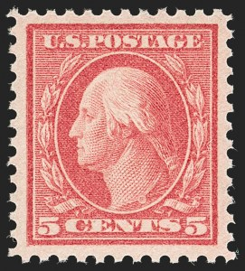 Sale Number 1197, Lot Number 2021, 1917-20 Issues (Scott 498-549)5c Rose, Error (505), 5c Rose, Error (505)