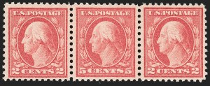 Sale Number 1197, Lot Number 2022, 1917-20 Issues (Scott 498-549)5c Rose, Error (505), 5c Rose, Error (505)
