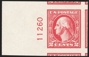 Sale Number 1197, Lot Number 2032, 1917-20 Issues (Scott 498-549)2c Carmine, Ty. V, Imperforate (533), 2c Carmine, Ty. V, Imperforate (533)