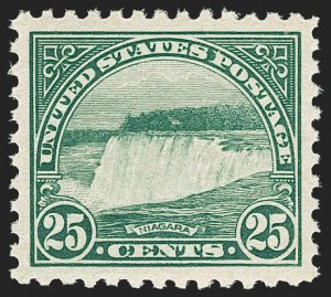 Sale Number 1197, Lot Number 2040, 1922-29 Issues (Scott 551-621)25c Yellow Green (568), 25c Yellow Green (568)