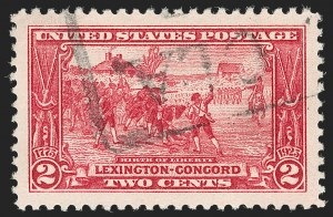 Sale Number 1197, Lot Number 2059, 1922-29 Issues (Scott 551-621)2c Lexington-Concord (618), 2c Lexington-Concord (618)