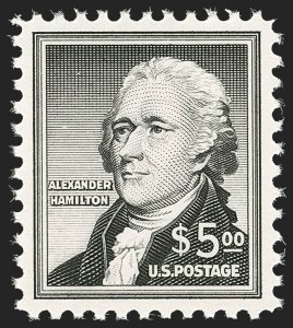 Sale Number 1197, Lot Number 2078, Later Issues$5.00 Hamilton (1053), $5.00 Hamilton (1053)
