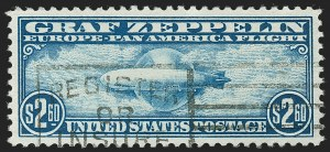 Sale Number 1197, Lot Number 2110, Air Post$2.60 Graf Zeppelin (C15), $2.60 Graf Zeppelin (C15)