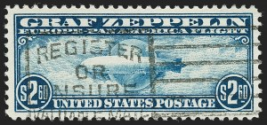 Sale Number 1197, Lot Number 2111, Air Post$2.60 Graf Zeppelin (C15), $2.60 Graf Zeppelin (C15)