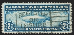 Sale Number 1197, Lot Number 2112, Air Post$2.60 Graf Zeppelin (C15), $2.60 Graf Zeppelin (C15)