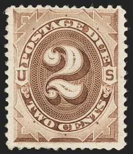 Sale Number 1197, Lot Number 2123, Special Delivery thru Offices in China2c Deep Brown, Special Printing (J9), 2c Deep Brown, Special Printing (J9)