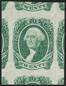 Sale Number 1197, Lot Number 2252, Confederate States20c Green (13), 20c Green (13)
